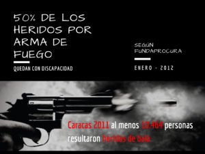 Discapacidad por armas de fuego