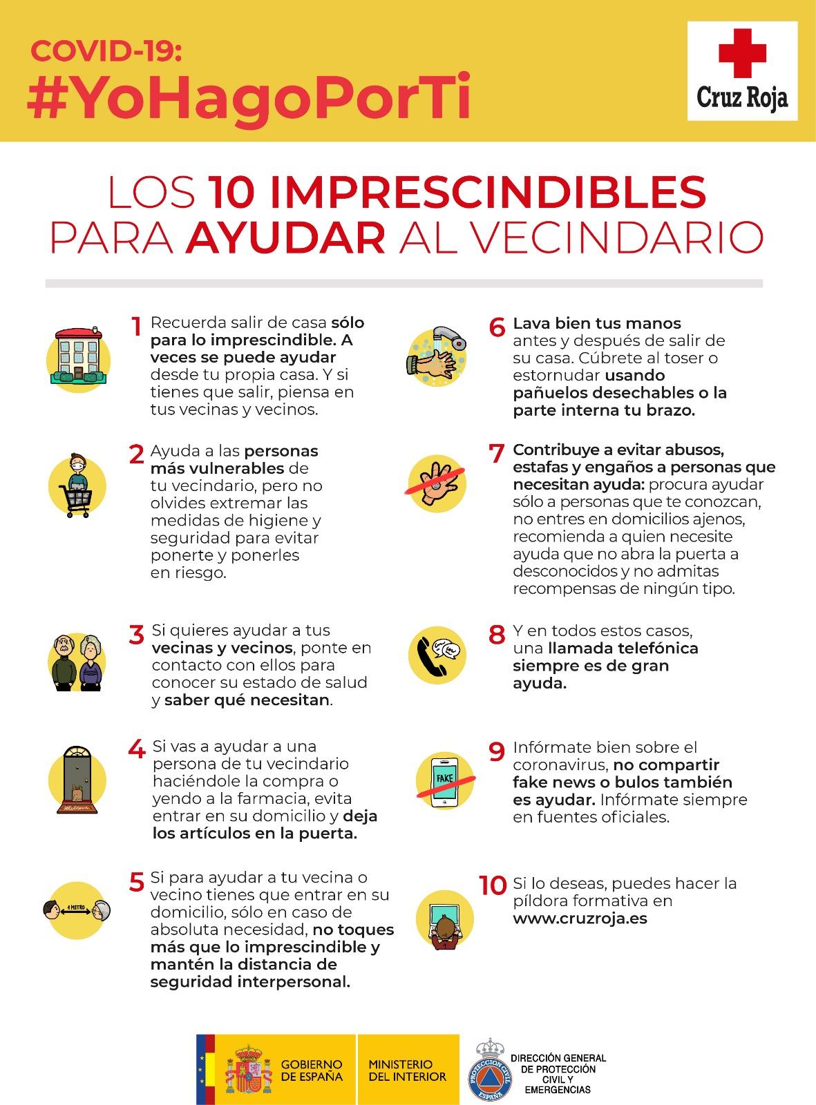 Conoce las 10 conductas imprescindibles para ayudar a tus vecinos con discapacidad en la pandemia del Coronavirus Covid-19