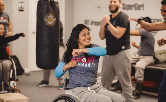Mercedes Gómez - Actividad física para personas con discapacidad
